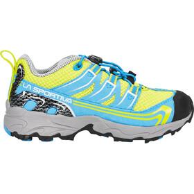 La Sportiva Falkon Low Shoes Kids Sulphur/Blue